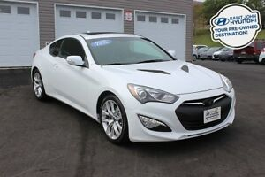 2016 Hyundai Genesis Coupe 3.8! LEATHER! SUNROOF! NAV!