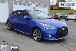 2014 Hyundai Veloster Turbo! LEASE RETURN! LOADED! 6 SPEED!