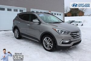 2018 Hyundai Santa Fe Sport Limited! LEATHER! NAV! TURBO! AWD!