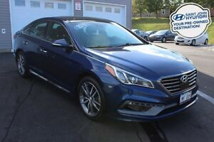 2015 Hyundai Sonata ULTIMATE! LEATHER! NAV! TURBO!