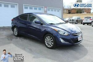 2014 Hyundai Elantra GLS! SUNROOF! HEATED SEATS! BACK UP CAM!