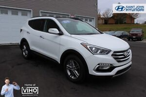 2018 Hyundai Santa Fe Sport Luxury! LEATHER! NAV! SUNROOF!