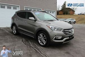 2018 Hyundai Santa Fe Sport Limited! LOADED! TURBO! ALL WHEEL DR