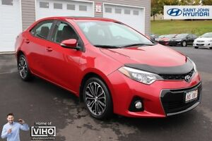 2014 Toyota Corolla S! SUNROOF! HEATED SEATS! BACK UP CAM!