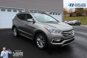 2018 Hyundai Santa Fe Sport Limited! LOADED! LEATHER! NAV! TURBO