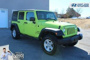 2017 Jeep WRANGLER UNLIMITED Sport! HYPERGREEN! LIKE NEW! 4X4!