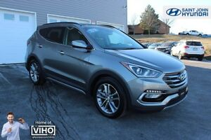 2018 Hyundai Santa Fe Sport Limited! LEATHER! NAV! TURBO! WARRAN