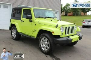 2017 Jeep Wrangler Sahara! HYPERGREEN! NAVIGATION! LOW KMS!