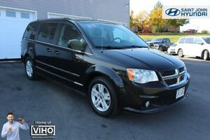 2016 Dodge Grand Caravan Crew! LEATHER! BACK UP CAM! 7 PASSENGER