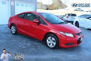 2013 Honda Civic LX! COUPE! HEATED SEATS! $89 B/W!