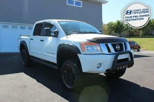 2014 Nissan Titan PRO-4X! LIFTED! LEATHER! SUNROOF! LOADED!