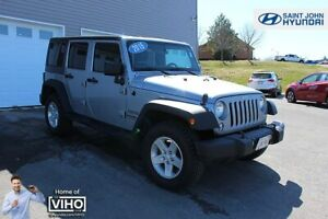 2015 Jeep WRANGLER UNLIMITED Sport! 6 SPEED! 4X4! NEW TIRES!