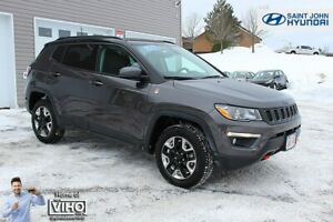 2017 Jeep Compass Trailhawk! NAVIGATION! HEATED SEATS! 4X4!