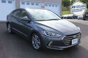 2017 Hyundai Elantra Limited! LEATHER! NAV! SUNROOF!