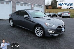 2014 Hyundai Genesis Coupe LEATHER! NAV! LOADED! TURBO!