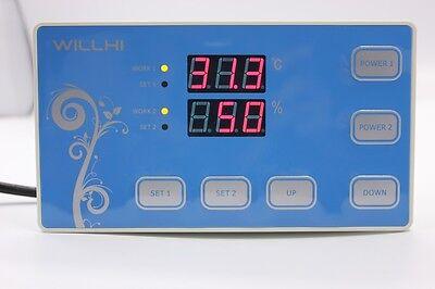 220v Digital Temperature And Humidity Controller Incubator Thermostat W Sensor