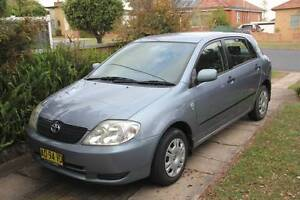 2001 Toyota Corolla Hatchback East Maitland Maitland Area Preview