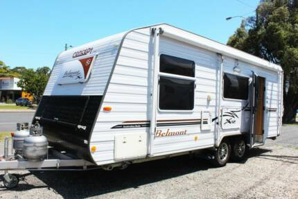 2012 Concept Belmont 21ft Caravan Coffs Harbour Coffs Harbour City Preview