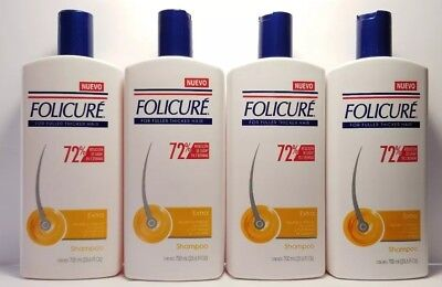 4 PACK!! FOLICURE EXTRA SHAMPOO FULLER THICKER HAIR  Reduces hair loss 72% 700ml for sale  Tolleson