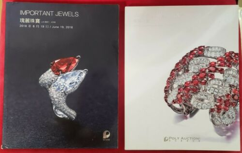 2 Poly Auction Catalogs Jewelery