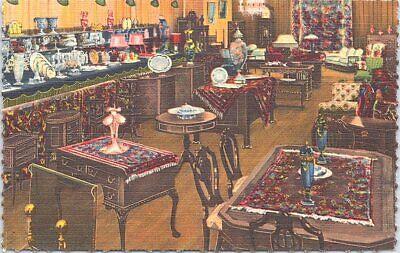 Linen Advertising Loop Galleries of Albert Mendelssohn Chicago Illinois 1940s