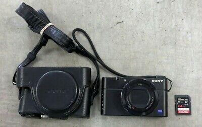 Sony DSC-RX100 III RX100 Digital Camera With 64 GB SD Card & Sony case