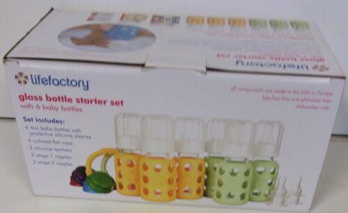 4oz baby bottle starter set 6 pack