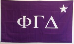 Phi Gamma Delta (Fiji) Flag 3' x 5' - Free Shipping! Indoor/Outdoor Use!