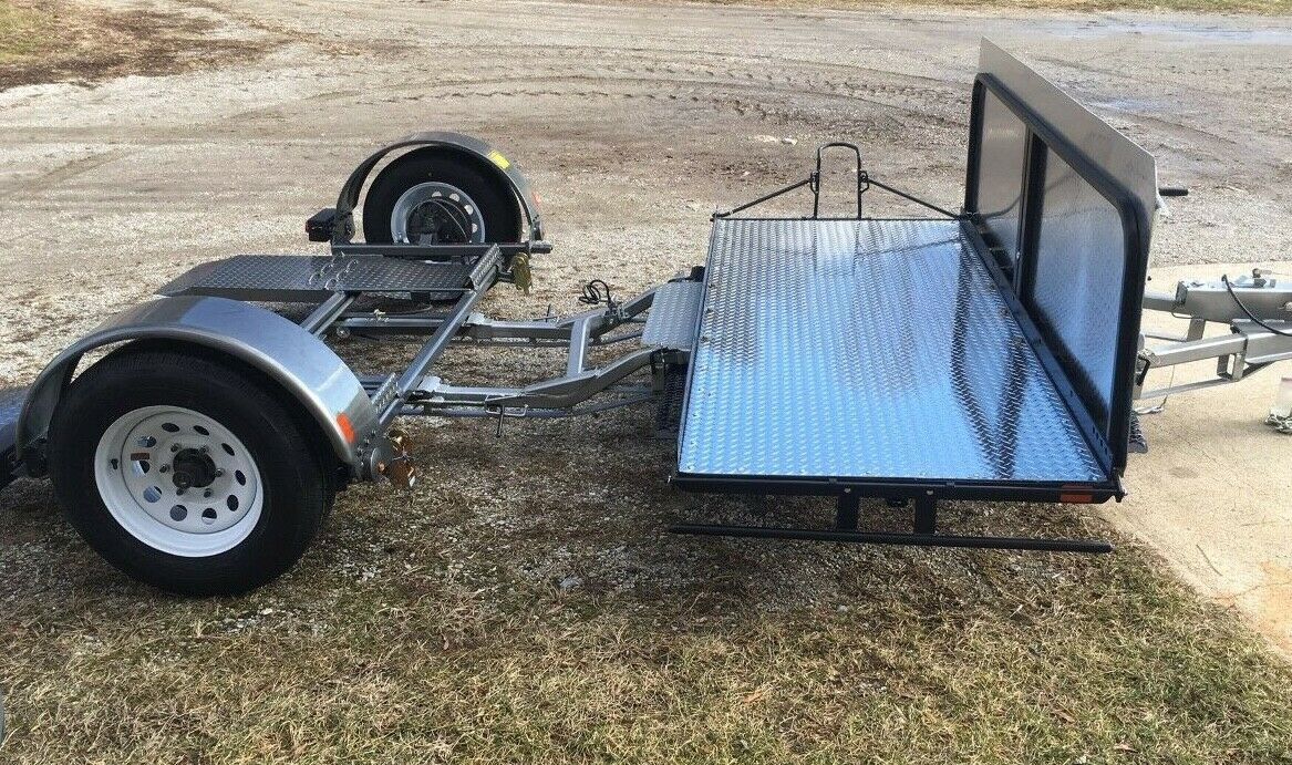 "Car/Tow Dolly Model 40 Tow +Cars 78"" Wide & Full Dress Motorcycle, HYD Brakes"