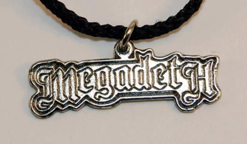 Vintage Necklace MEGADETH Pendant Original NEW old stock -Killing is my business