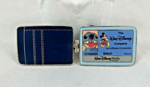 Walt Disney World Pin - Cast Exclusive - Stitch 626 - ID Wallet