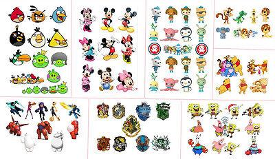 mickey harry potter winnie the pooh Spongebob party candy bag seal stickers - Spongebob Stickers