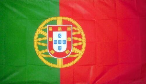 PORTUGAL FLAG 5X3 PORTO PORTUGUESE LISBON flags europe Faro Iberia Iberian flags