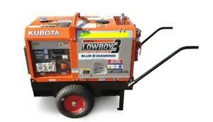 Kubota Generator 6KVA - GL6000 Lowboy 3 - Wheel Kit & Steel Bund Kewdale Belmont Area Preview