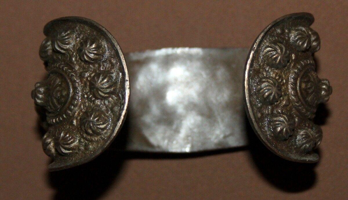 Antique Greek folk bronze woman fertility bracelet