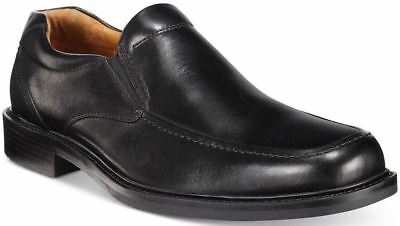 Black Calfskin Loafer Shoes - JOHNSTON & MURPHY  Tabor Venetian Loafer Slip On Calfskin Size 13 Med