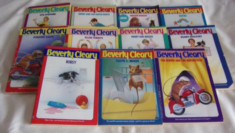 HUGE set of 11 Beverly Cleary chapter books