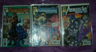 AVENGERS TWO WONDER MAN & BEAST #1-3 VERY FINE COMPLETE SET 2000
