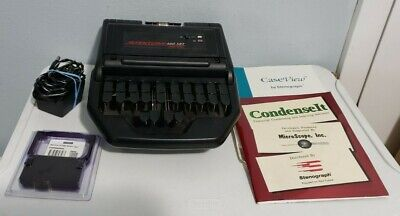 Stentura 400 Srt Electric Stenograph Machine W Software Ribbon Cartridge