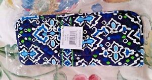 NWT Vera Bradley Straighten up and Curl in Ink Blue