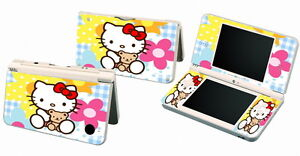 HELLO KITTY 018 Vinyl Decal Skin Sticker for Nintendo DSi NDSi XL LL