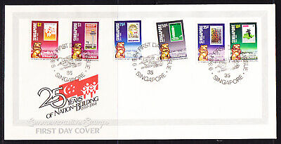 Singapore 1984 Nation Building First Day Cover
