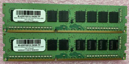 M-ASR1001X-16GB (2x8GB) 16GB Memory Kit 3rd Party Upgrade For Cisco ASR1001X