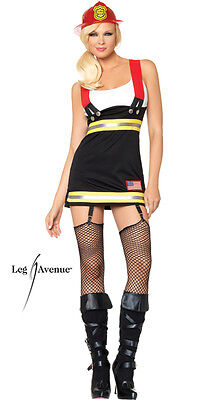 Backdraft Babe Fireman Costume for Women size XS & S New by Leg Avenue 83626 - Firefighter Costumes For Women