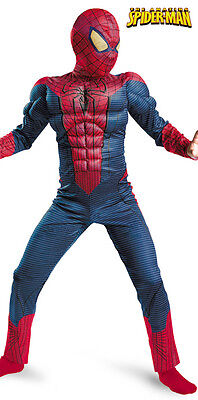 The Amazing Spider-Man Costume w/Free Web Shooter size 7-8 New by Disguise 42476 ()