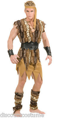 COOL CAVEMAN ADULT HALLOWEEN COSTUME MEN'S SIZE LARGE 42-44
