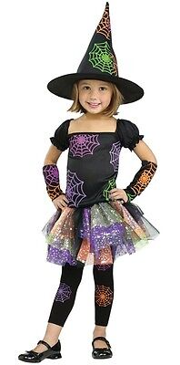 Wild Witch Costume for Toddlers by Fun World 2T, 3T-4T