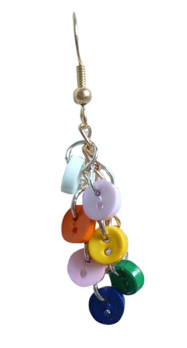 Diy Dangle Earrings From Buttons Ebay