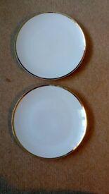 Vintage Brigita and Thomas dinner plates