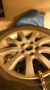"""Michelin Winter Tires and Rims 16"""""""